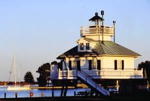 Hooper Strait Lighthouse at Chesapeake Bay Maritime Museum