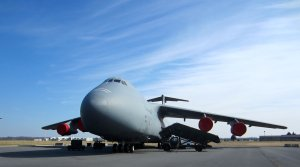 C5 Galaxy at the Air Mobility Museum in Dover, Delaware