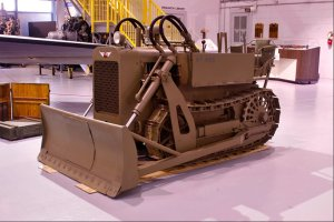 Clark Airborn Tractor CA1 Courtesy Air Mobility Museum in Dover, Delaware