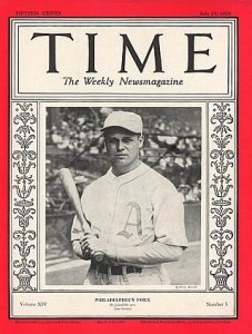 Jimmie Foxx Time Magazine Cover