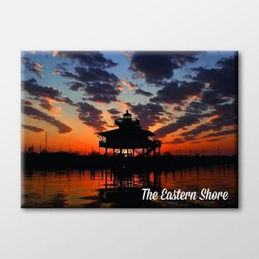 Lighthouse Sunset Magnet