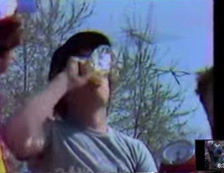 Danny Killer Marsh Drinking Raw Eggs