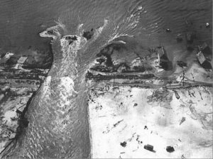 Hurricane of 1933 Cuts Inlet Through Ocean City