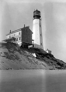 Cape Henlopen Light in Delaware