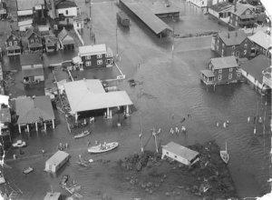 Hurricane of 1933 Damage in Ocean City 2