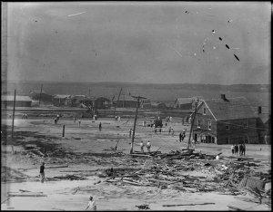 Hurricane of 1933 Damage in Ocean City