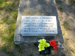 Joshua Chandler Grave in Chincoteague