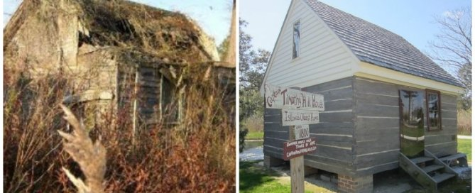 The Timothy Hill House, before and after