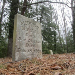 Medford Shenton Grave on Taylor's Island, Eastern Shore of Maryland