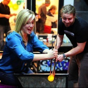 Jeffrey Auxer Glass Blowing in Berlin, Maryland