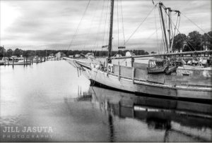 Skipjack in Madison Bay on Eastern Shore of Maryland
