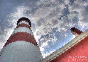Assateague Lighthouse on the Eastern Shore of Virginia