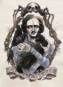 Edgar Allan Poe for Halloween Guide to Eastern Shore of Maryland and Southern Delaware
