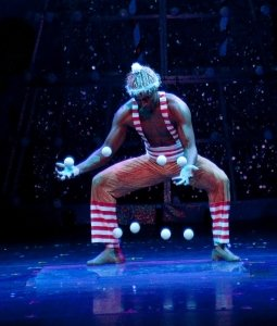 Cirque Dreams Holidaze Show in Salisbury on the Eastern Shore of Maryland