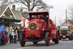 Christmas Trucks in St. Michaels Parade
