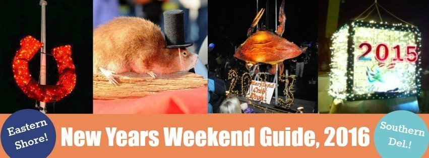 2016 New Years Weekend: Muskrat Drops, Magic Shows, 1st Day Hikes, and More