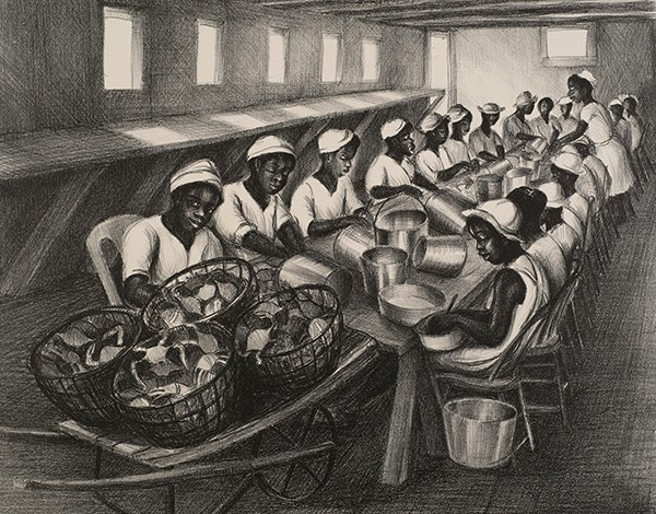 """The """"Socialite"""" Whose Art Celebrates the Life of Eastern Shore African Americans Back in the Day"""