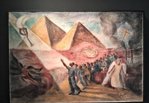 Eastern Shore Painting: Pharaoh's Army by Ruth Starr Rose