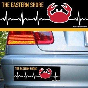 Crab EKG Red on Black