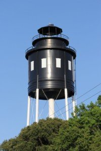 Water Tower Lighthouse in Cape Charles