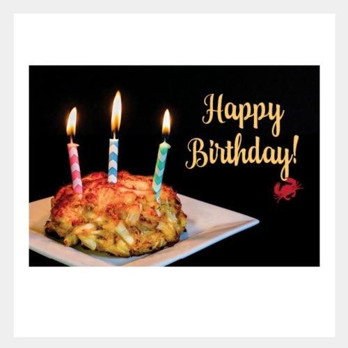 Crab Cake Birthday