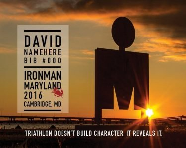 Ironman Maryland Momento