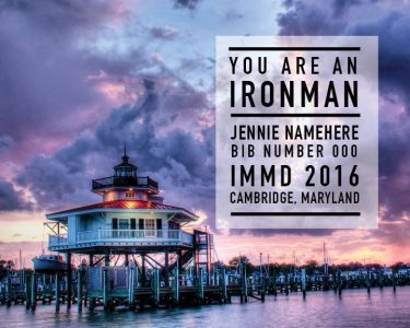 Ironman Maryland Memento--Lighthouse