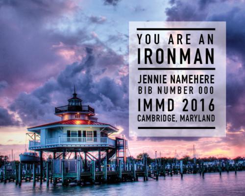 Ironman Maryland Memento--Lighthouse