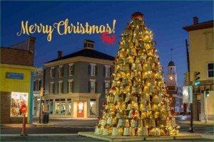 Crab Basket Christmas Tree