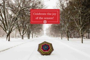 Click that umbrella to see the whole collection of Secrets Christmas cards.