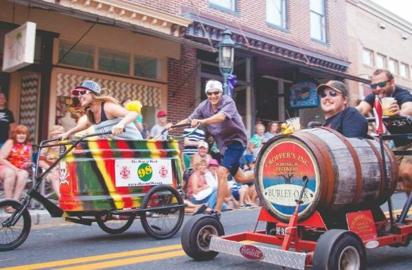 2020 Events: Berlin Bathtub Races on Maryland's Eastern Shore