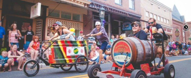 17 Events for 2017: Berlin Bathtub Races