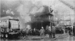 The fire at the Morbid Manor in Ocean City, Maryland