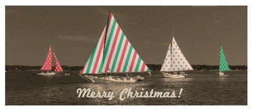 Skipjacks Christmas Card