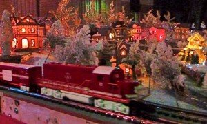 Christmas Garden of Trains in Cambridge, Maryland