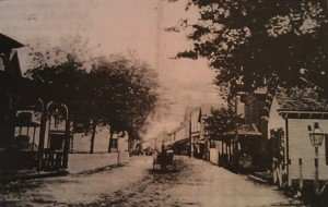 Downtown Chincoteague, Virginia on the Eastern Shore, 1910