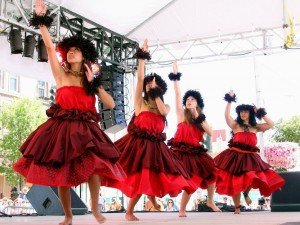 Dancers at National Folk Festival in Salisbury, Maryland