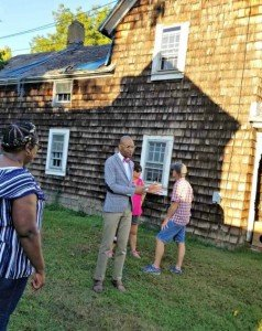 Dale Green Leads Tour of The Hill neighborhood in Easton, Maryland
