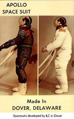 Apollo Space Suit Made by ILC Dover