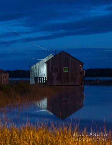 Twilight Reflections in Chincoteague, Virginia