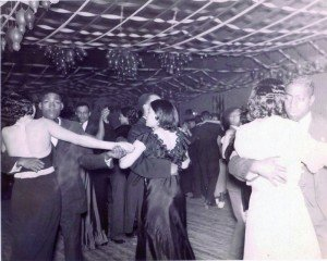 Dancing in a club in the Pine Street neighborhood of Cambridge, Maryland