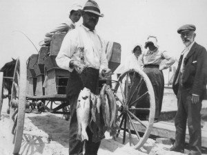 Fishing Party on Wallops Island, Virginia