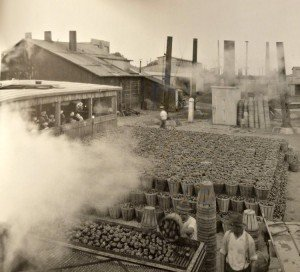 Tomato Cannery in Hurlock, Maryland