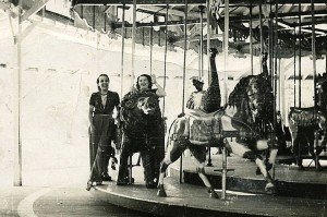 The carousel at Tolchester Beach, Maryland