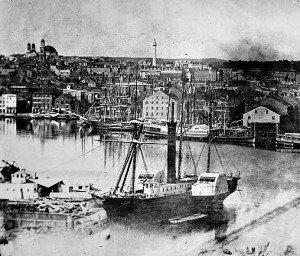 Balitmore Inner Harbor, 1850