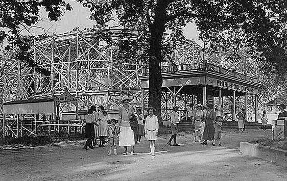Amusement park at Tolchester Beach, Maryland