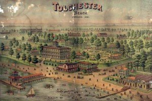 Tolchester Beach, Maryland postcard