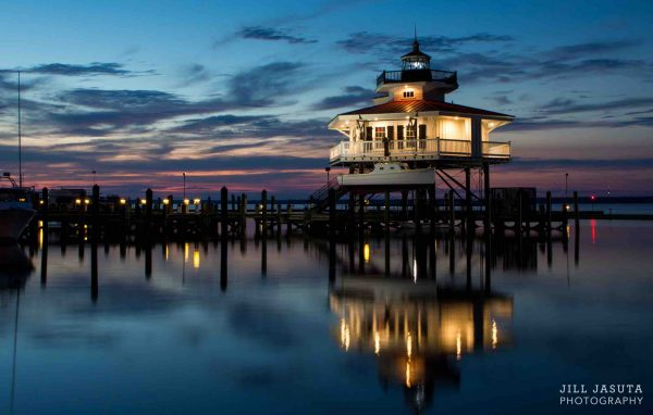 Lighthouse at Twilight photo