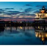 Chesapeake Lighthouse at Dusk Greeting Card