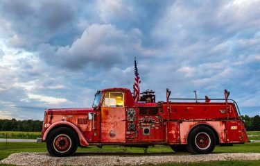 Antique Fire Truck